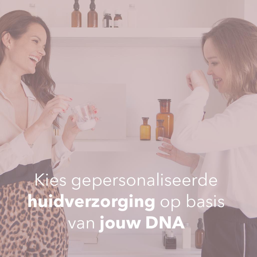 Nomige, huidverzorging op DNA
